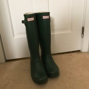 Hunter tall rain boots-offers considered!